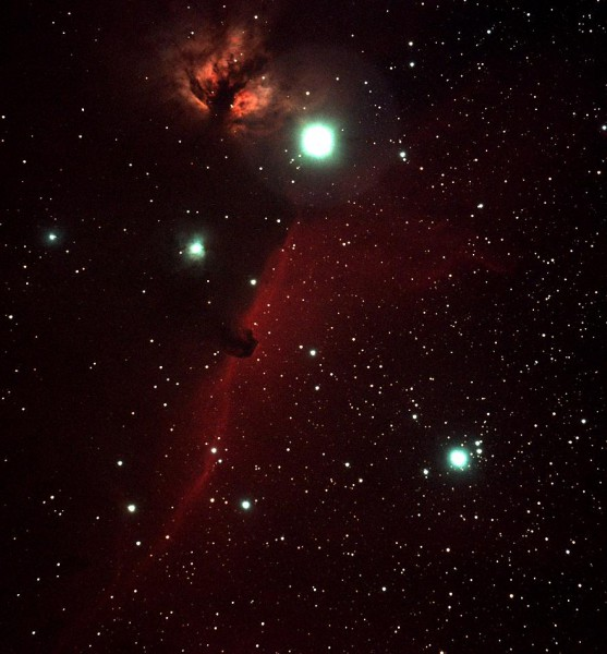 IC434: The Horsehead Nebula