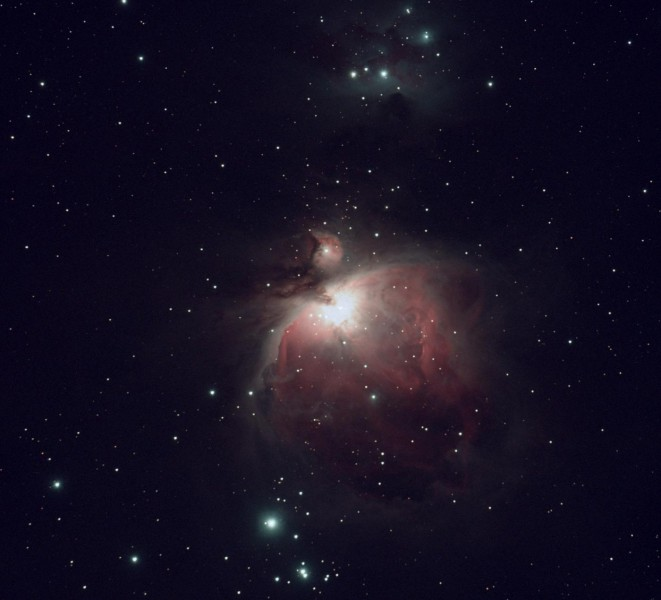 M42, The Orion Nebula in a Televue NP101is