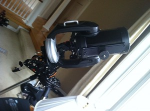 Celestron CPC 1100 Mounted on Heavy Duty Wedge