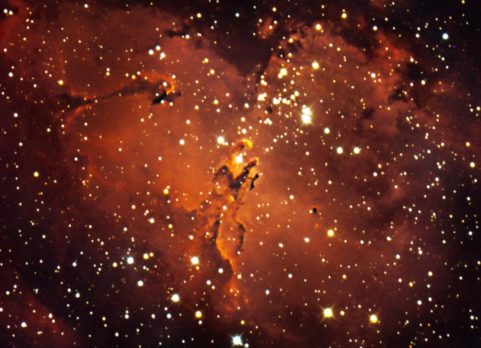 Messier 16, The Eagle Nebula