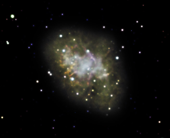 The Crab Nebula, Messier 1