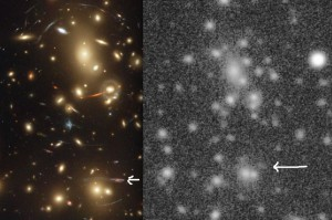 Abell 2218 Gravitational Arc L comparison